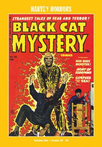 Harvey Horrors Softies - Black Cat Mysteries (Vol 1)